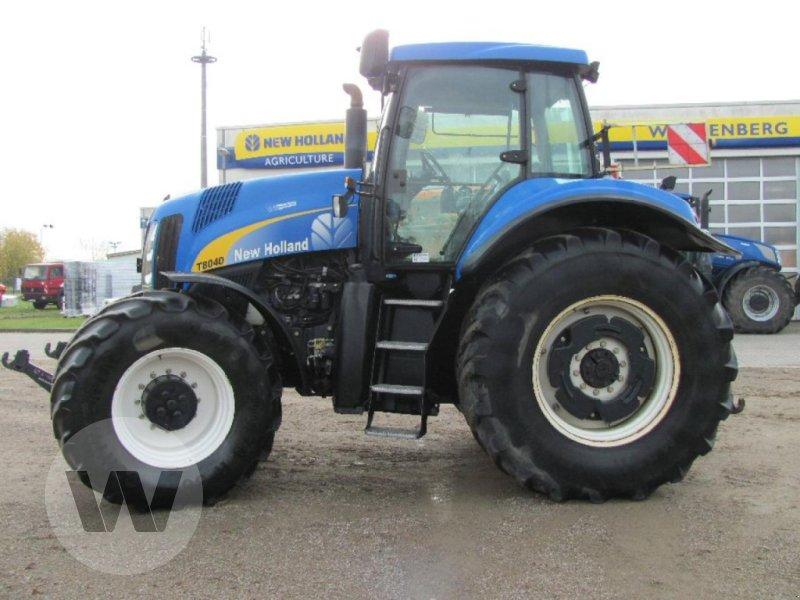 Traktor des Typs New Holland T 8040, Gebrauchtmaschine in Kleeth (Bild 5)