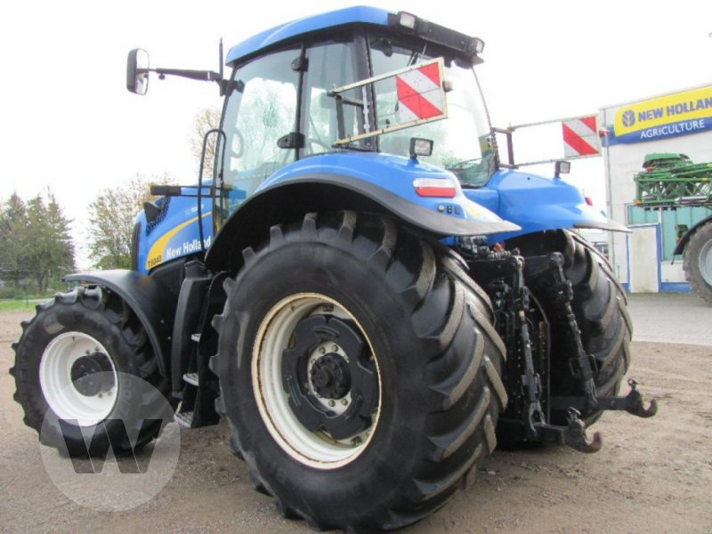 Traktor des Typs New Holland T 8040, Gebrauchtmaschine in Kleeth (Bild 4)