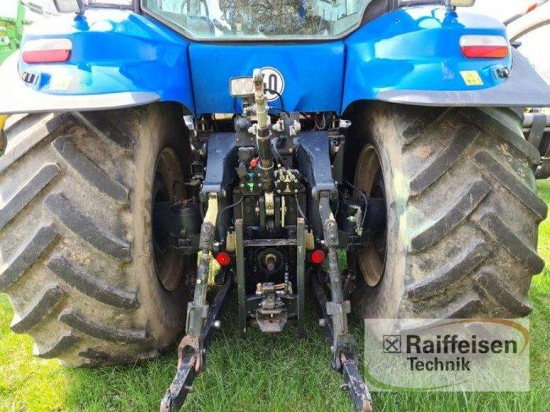 Traktor des Typs New Holland T 8040, Gebrauchtmaschine in Kruckow (Bild 5)