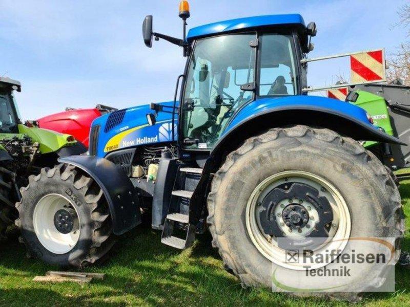 Traktor des Typs New Holland T 8040, Gebrauchtmaschine in Kruckow (Bild 10)
