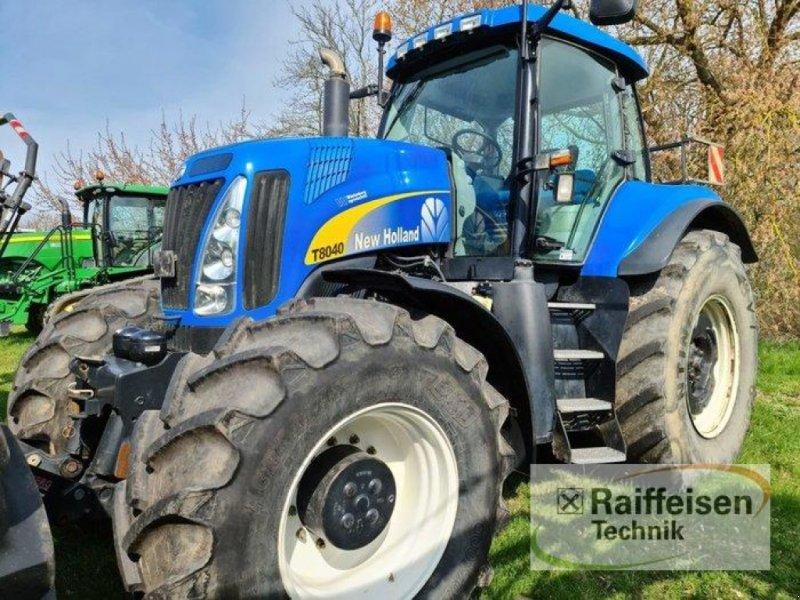 Traktor des Typs New Holland T 8040, Gebrauchtmaschine in Kruckow (Bild 4)