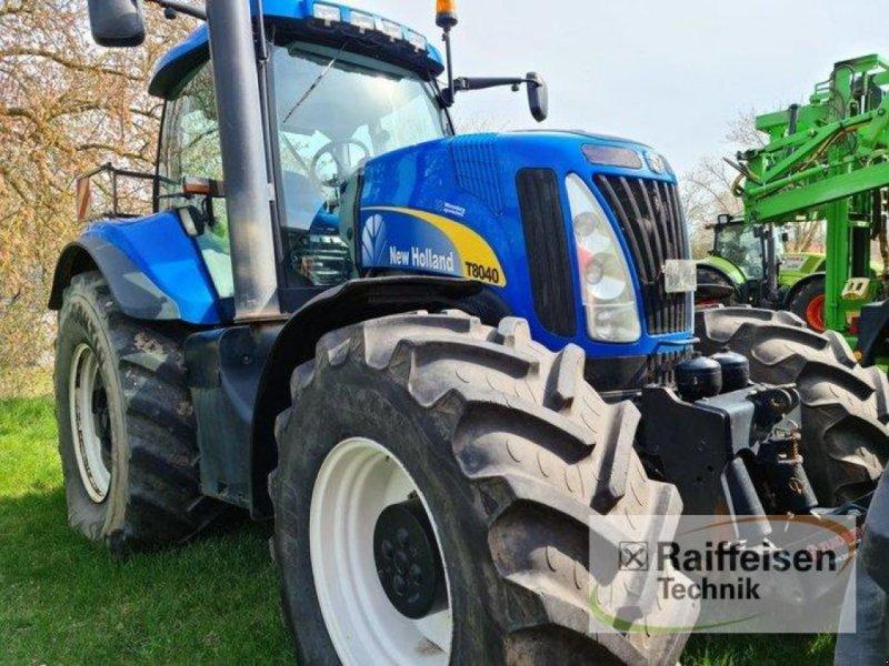 Traktor des Typs New Holland T 8040, Gebrauchtmaschine in Kruckow (Bild 1)