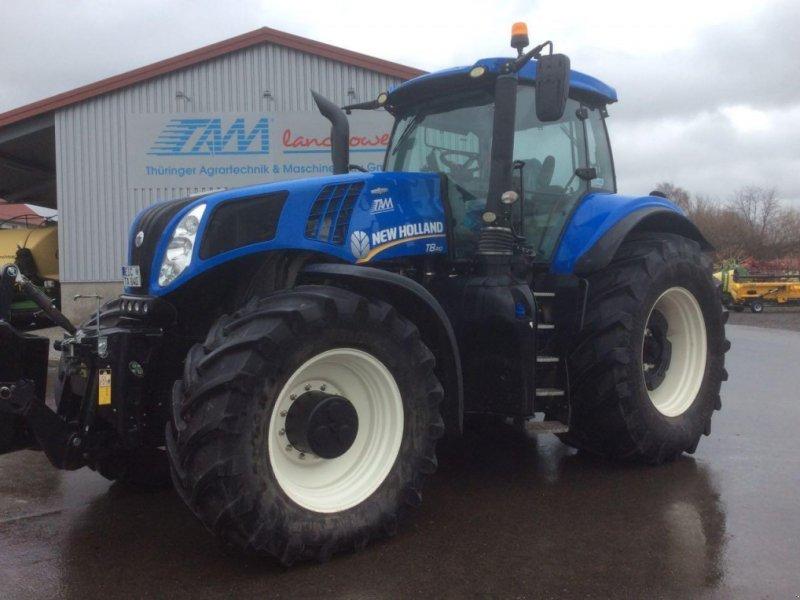 Traktor des Typs New Holland t 8.410 ac, Gebrauchtmaschine in ANRODE / OT LENGEFELD (Bild 1)