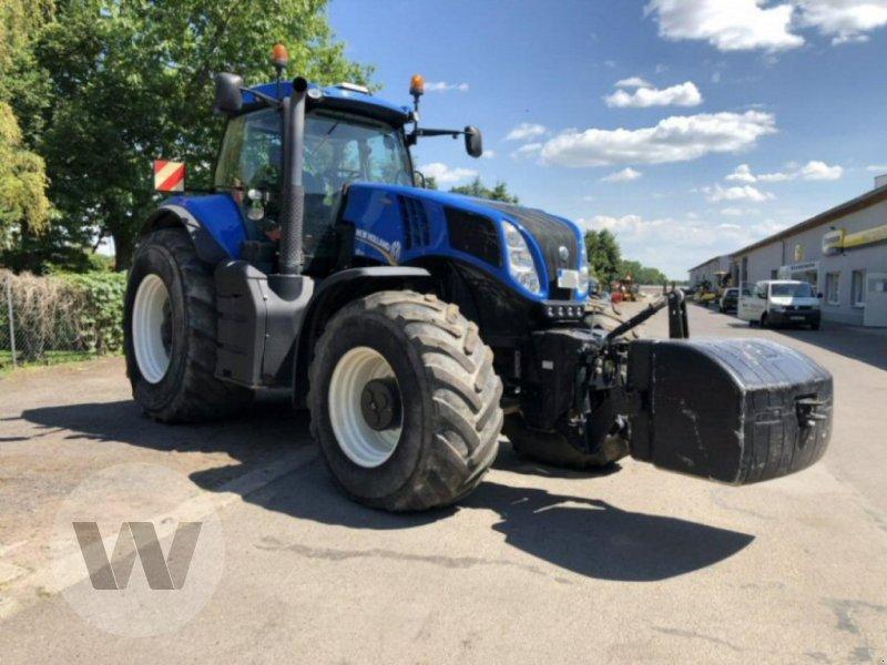 Traktor des Typs New Holland T 8.420 AC, Gebrauchtmaschine in Dedelow (Bild 1)