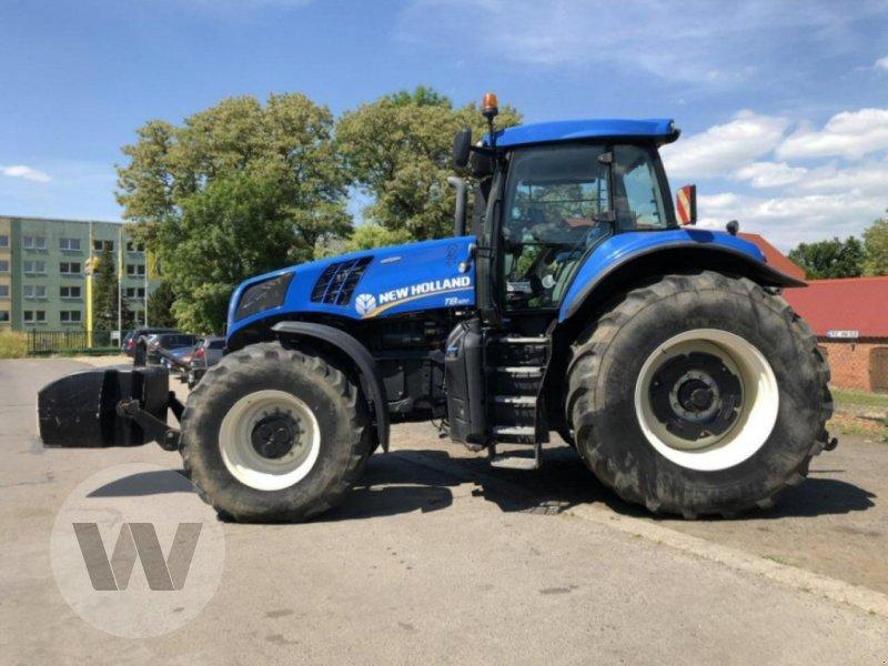 Traktor des Typs New Holland T 8.420 AC, Gebrauchtmaschine in Dedelow (Bild 2)