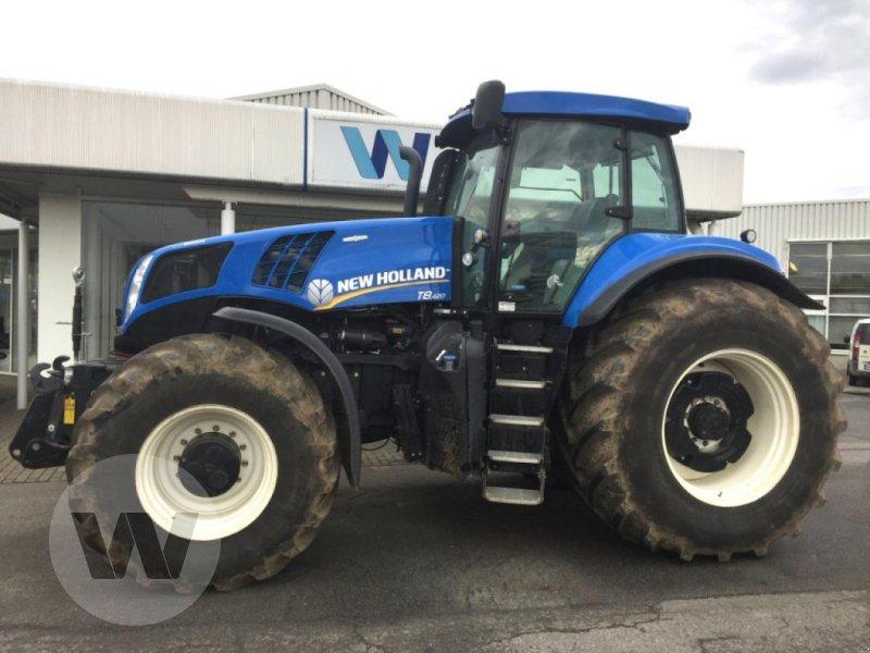 Traktor des Typs New Holland T 8.420 AC, Gebrauchtmaschine in Kleeth (Bild 1)