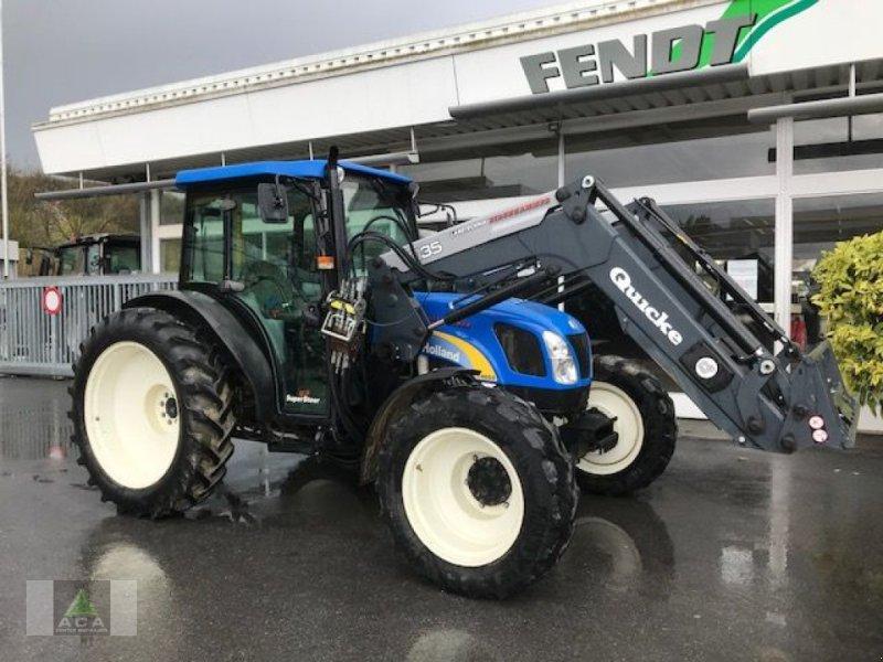 Traktor tip New Holland T4050 DeLuxe & Supersteer, Gebrauchtmaschine in Markt Hartmannsdorf (Poză 1)