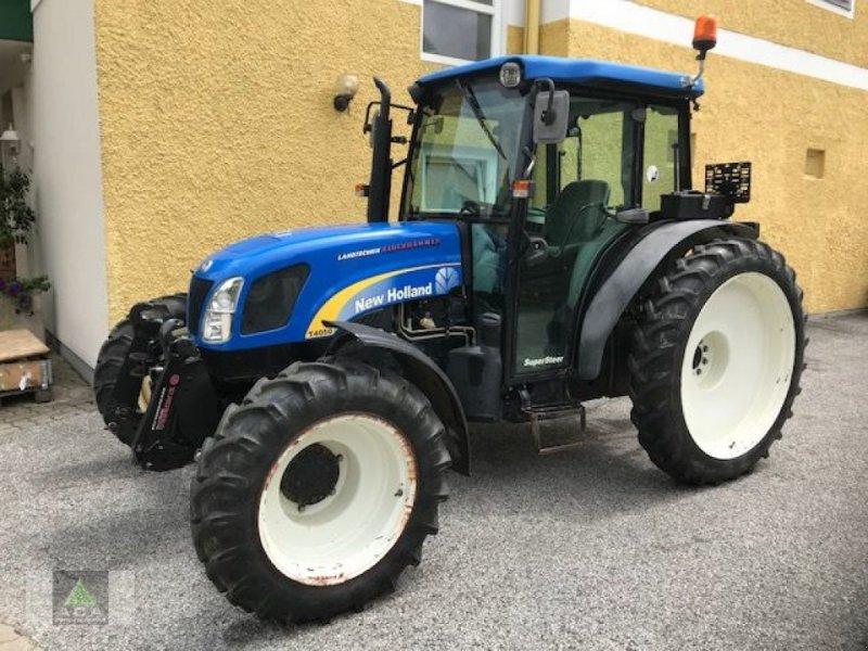 Traktor des Typs New Holland T4050 DeLuxe & Supersteer, Gebrauchtmaschine in Markt Hartmannsdorf (Bild 1)