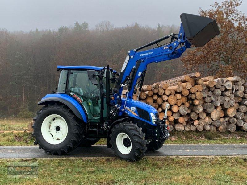 Traktor des Typs New Holland T4.55 & 75 - Ausstellungsmaschinen, Neumaschine in Lichtenfels (Bild 6)