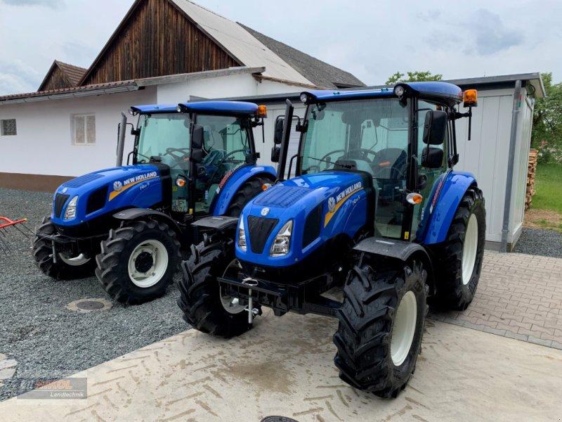 Traktor des Typs New Holland T4.55 & 75S - Ausstellungsmaschinen, Neumaschine in Lichtenfels (Bild 1)