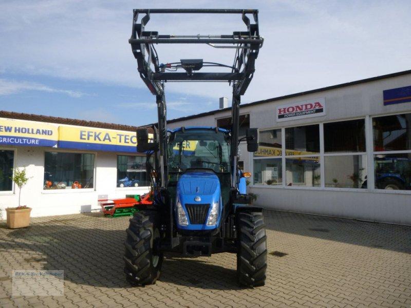 Traktor des Typs New Holland T4.55 Powerstar, Gebrauchtmaschine in Erlbach (Bild 1)