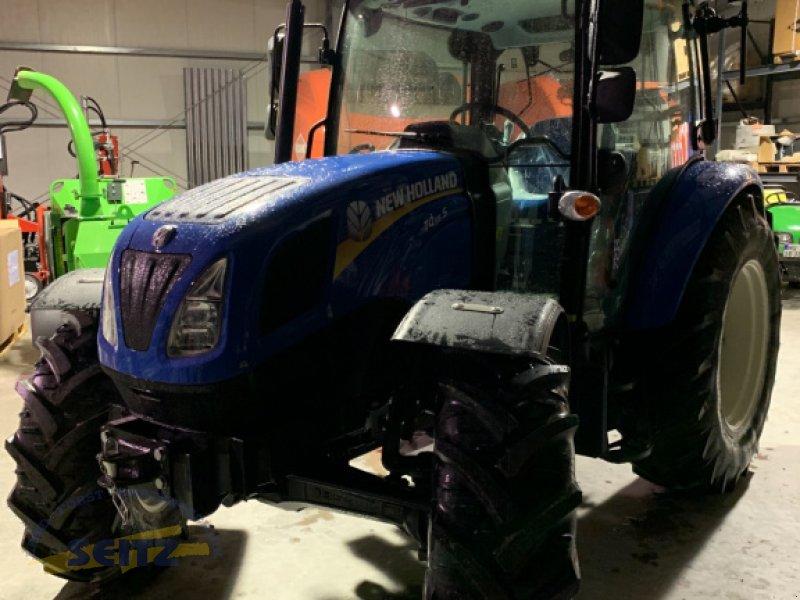 Traktor tipa New Holland T4.55 S, Neumaschine u Lindenfels-Glattbach (Slika 1)