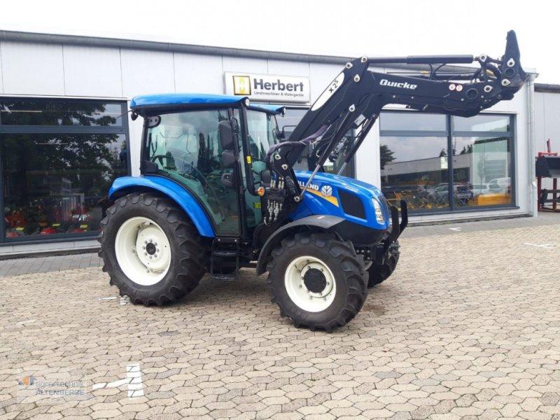 Traktor des Typs New Holland T4.55 S, Gebrauchtmaschine in Altenberge (Bild 1)