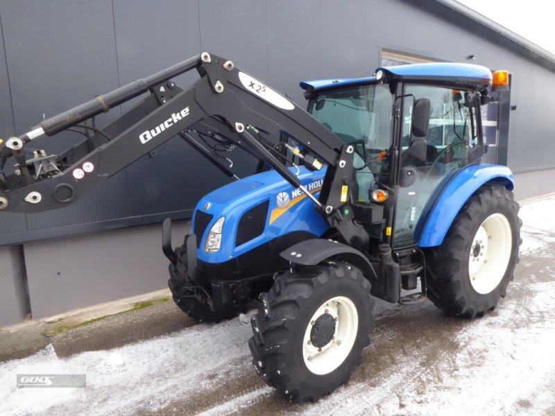 Traktor типа New Holland T4.65S Allr. Bj.2019, 571 Std. Wie Neu!. Mit Quicke Ind-Lader, Gebrauchtmaschine в Langenzenn (Фотография 1)