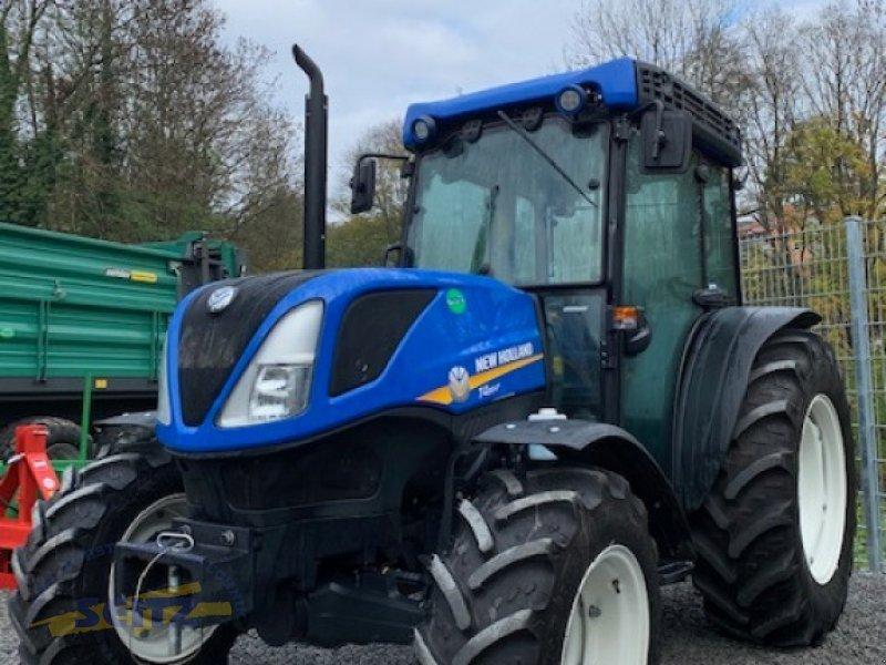 Traktor des Typs New Holland T4.80 LP, Gebrauchtmaschine in Lindenfels-Glattbach (Bild 1)