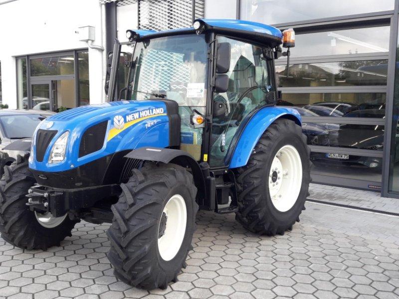 Traktor des Typs New Holland T4S.75, Neumaschine in Rötz (Bild 1)