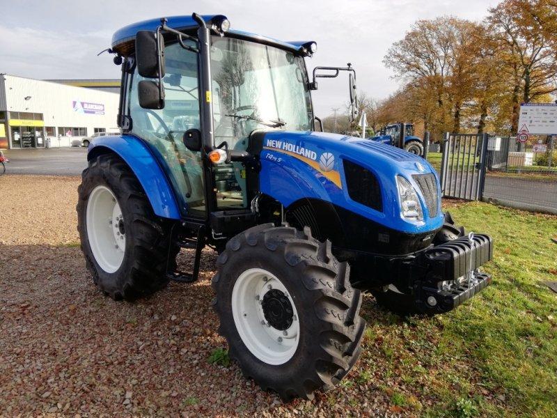 Traktor του τύπου New Holland T4S.75, Gebrauchtmaschine σε TREMEUR (Φωτογραφία 1)