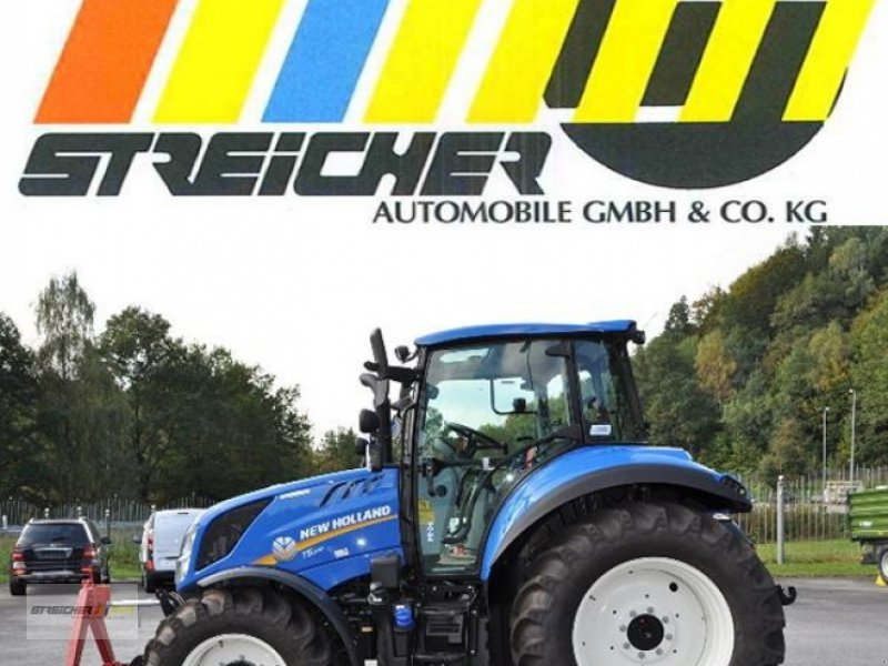 Traktor des Typs New Holland T5.100, Neumaschine in Lalling (Bild 1)