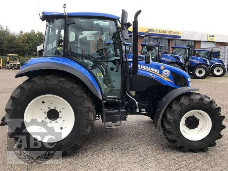 Traktor des Typs New Holland T5.105 DC KABINE SUP, Neumaschine in Bösel (Bild 3)