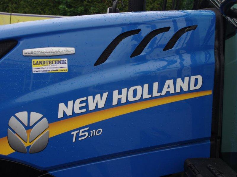 Traktor des Typs New Holland T5.110 Electro Command, Gebrauchtmaschine in Villach (Bild 6)