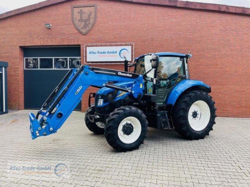 Traktor типа New Holland T5.95 DC mit Quicke Q56 Industriefrontlader, Gebrauchtmaschine в Niedersachsen - Haren (Ems) (Фотография 1)