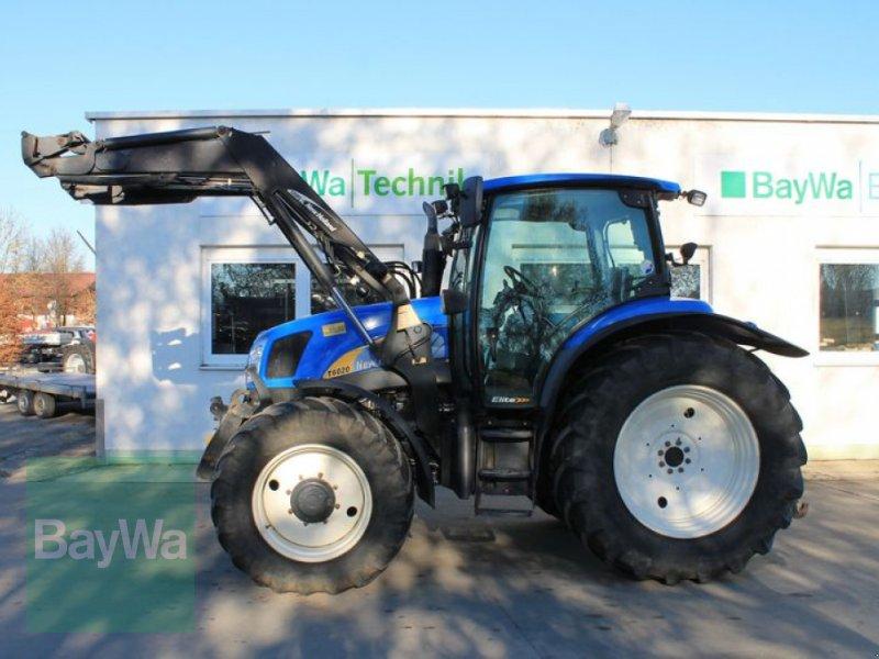 Traktor des Typs New Holland T6020 Elite, Gebrauchtmaschine in Straubing (Bild 1)