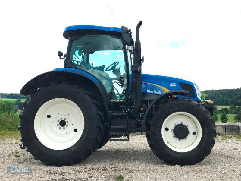 Traktor des Typs New Holland T6020 Elite, Gebrauchtmaschine in Rottenburg (Bild 1)