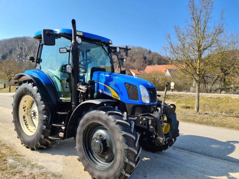 Traktor des Typs New Holland T6020 Elite, Gebrauchtmaschine in Wellheim (Bild 1)
