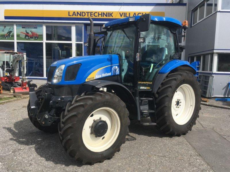 Traktor типа New Holland T6020 Elite, Gebrauchtmaschine в Villach (Фотография 1)