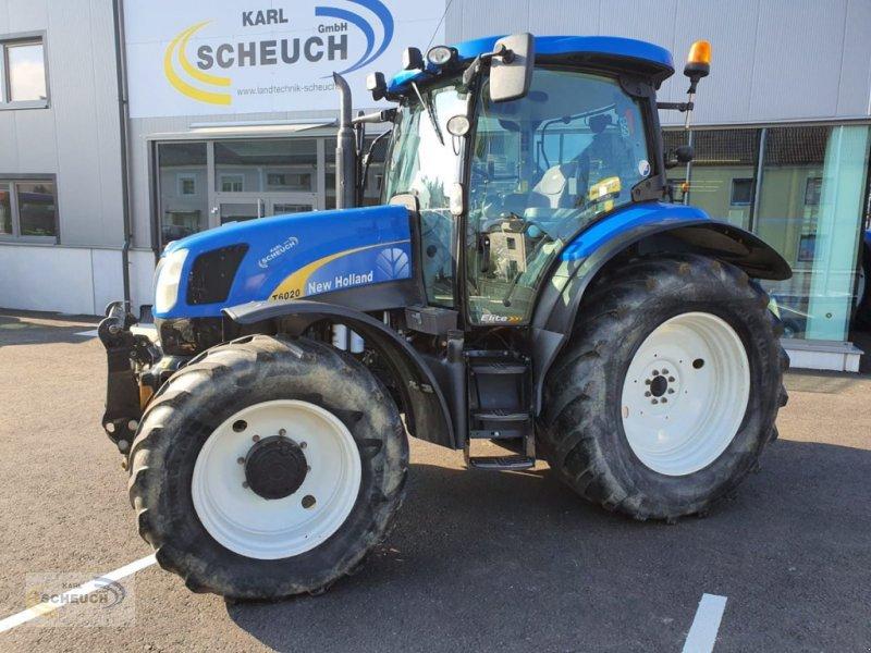 Traktor of the type New Holland T6020 Elite, Gebrauchtmaschine in Zeillern (Picture 1)