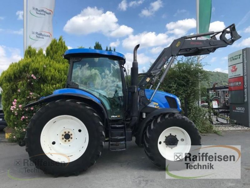 Traktor des Typs New Holland T6020, Gebrauchtmaschine in Linsengericht - Altenhaßlau (Bild 2)
