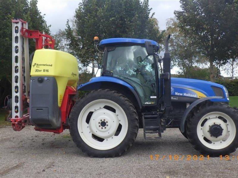 Traktor des Typs New Holland T6030 plus Frontlift, Gebrauchtmaschine in Ringsted (Bild 1)