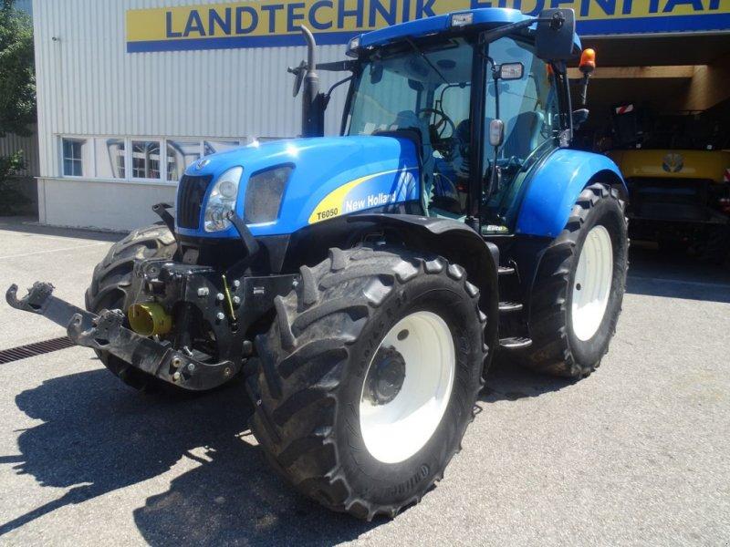 Traktor des Typs New Holland T6050 Elite, Gebrauchtmaschine in Burgkirchen (Bild 1)