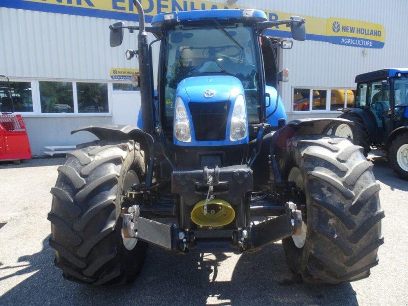 Traktor des Typs New Holland T6050 Elite, Gebrauchtmaschine in Burgkirchen (Bild 3)