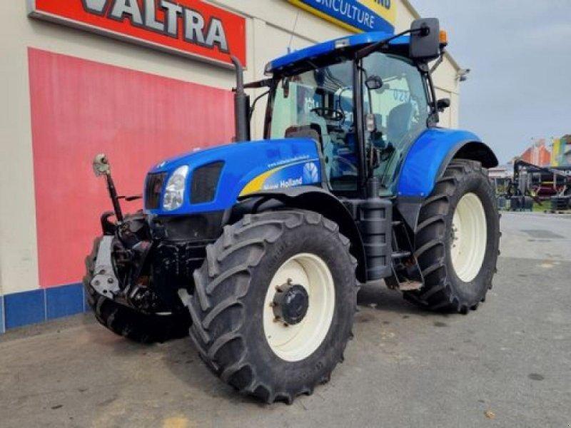 Traktor des Typs New Holland t6050 range & power command, Gebrauchtmaschine in GÖPFRITZ (Bild 1)