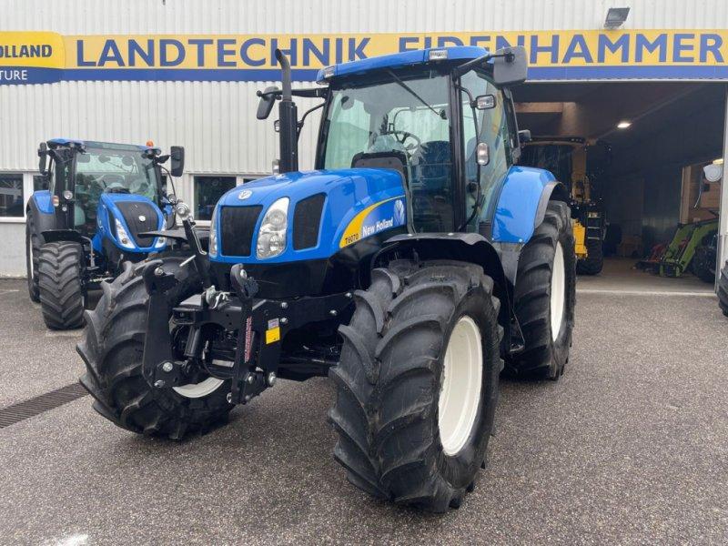 Traktor des Typs New Holland T6070 Range & Power Command, Gebrauchtmaschine in Burgkirchen (Bild 1)