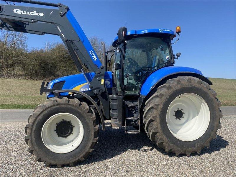 Traktor типа New Holland T6080 POWER COMMAND Bred hjulmontering eller Evt med std hjul, Gebrauchtmaschine в Vejle (Фотография 1)