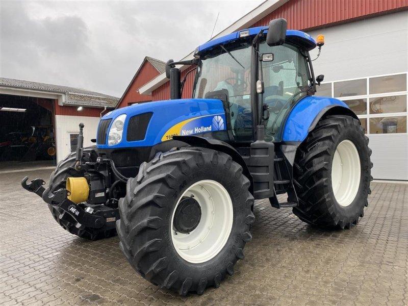Traktor typu New Holland T6080 RANGECOMMAND OG FRONT PTO!, Gebrauchtmaschine w Aalestrup (Zdjęcie 1)