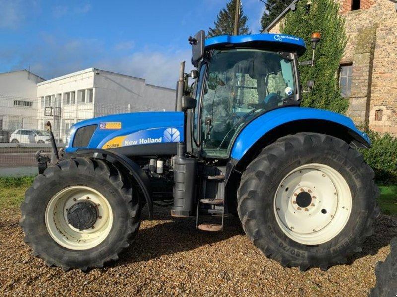 Traktor tip New Holland T6080 RC, Gebrauchtmaschine in Saint Ouen du Breuil (Poză 1)