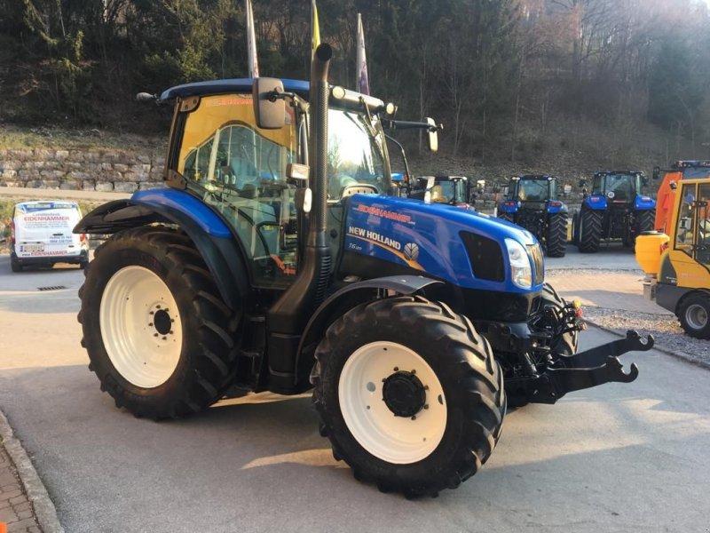 Traktor des Typs New Holland T6.120, Gebrauchtmaschine in Burgkirchen (Bild 4)