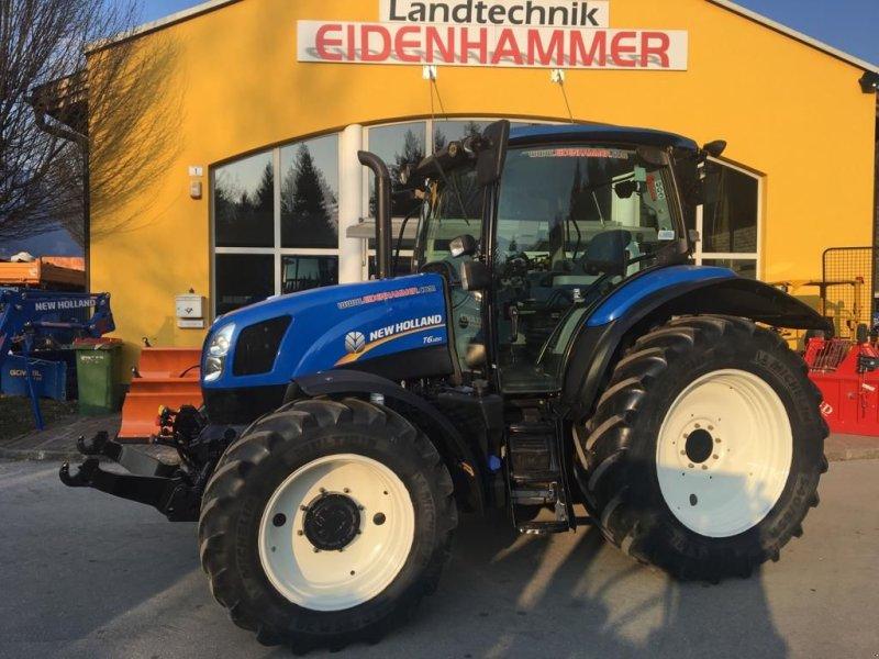 Traktor des Typs New Holland T6.120, Gebrauchtmaschine in Burgkirchen (Bild 7)