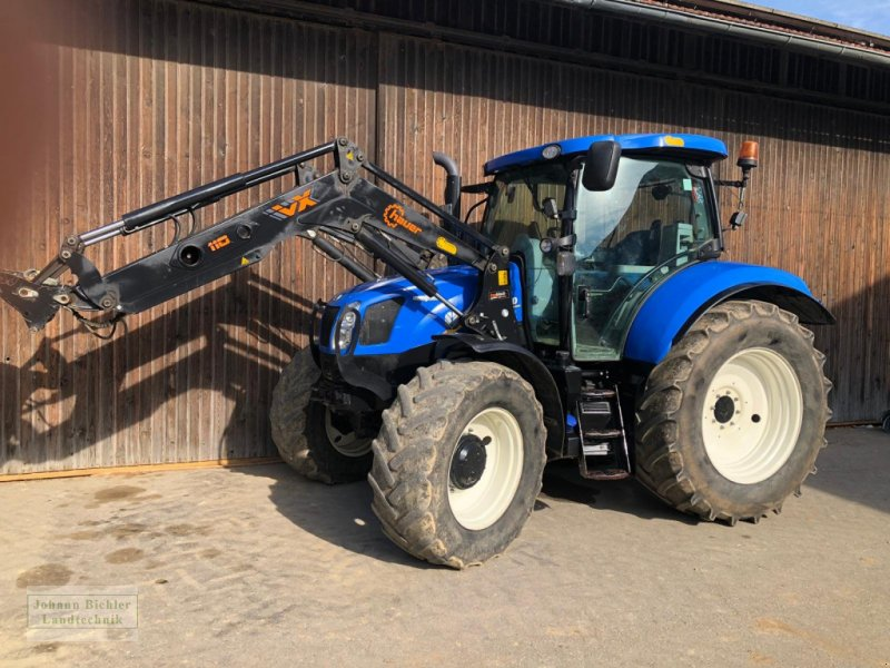 Traktor des Typs New Holland T6.140 AC, Gebrauchtmaschine in Unterneukirchen (Bild 1)