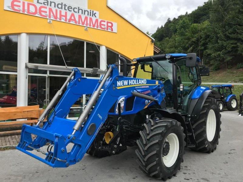 Traktor des Typs New Holland T6.140 EC, Gebrauchtmaschine in Burgkirchen (Bild 1)