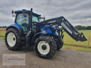 Traktor des Typs New Holland T6.145 AC Quicke Frontlader, Gebrauchtmaschine in Borken
