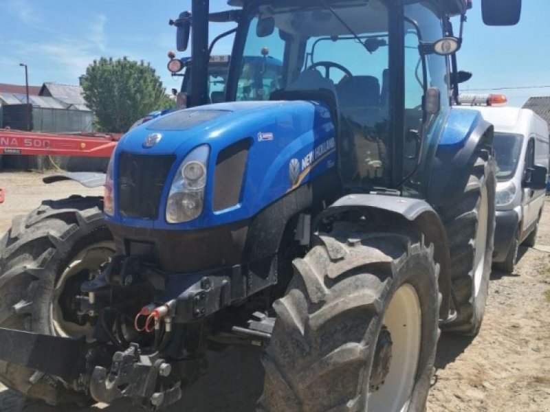 Traktor des Typs New Holland T6.155EC, Gebrauchtmaschine in Le Horps (Bild 1)