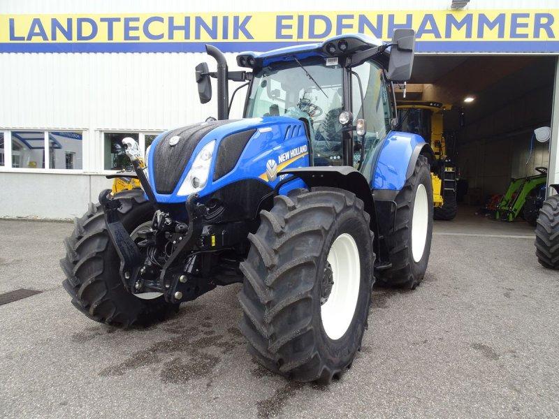 Traktor des Typs New Holland T6.160 Dynamic Command SideWinder II (Stage V), Neumaschine in Burgkirchen (Bild 1)