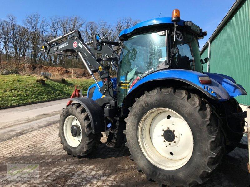 Traktor des Typs New Holland T6.160 mit Frontlader Neu!, Gebrauchtmaschine in Neustadt (Bild 3)