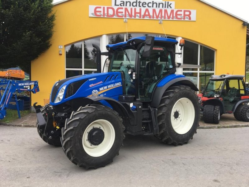 Traktor des Typs New Holland T6.175 AC, Vorführmaschine in Burgkirchen (Bild 5)