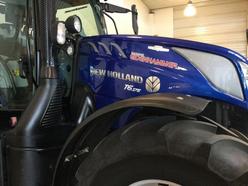 Traktor des Typs New Holland T6.175 Auto Command SideWinder II, Neumaschine in Burgkirchen (Bild 1)