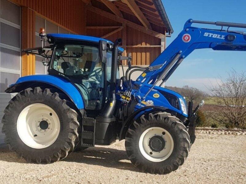 Traktor des Typs New Holland T6.180 AC Stufenlos 250Std. 175PS 6 Zylinder 50km/h FL FH FZ, Gebrauchtmaschine in Amerbach (Bild 1)